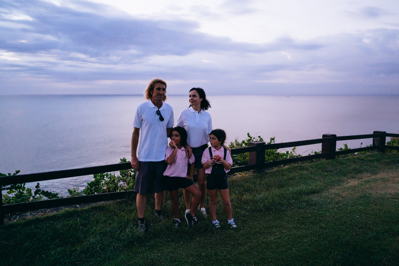 family on a trip